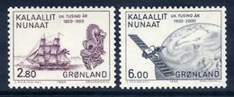GREENLAND 1985 Millenary Of Settlement VI MNH / **.   Michel 157-58 - Greenland