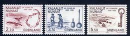 GREENLAND 1984 Millenary Of Settlement V MNH / **.   Michel 148-50 - Greenland