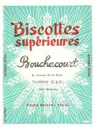 B Bo/ Biscottes Supérieures Bouchacourt - Zwieback