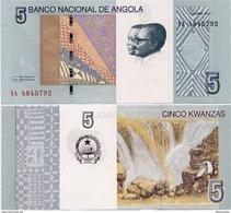 ANGOLA       5 Kwanzas       P-New       10.2012 (2017)       UNC - Angola