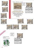 1505h: Österreich 1982, Raumfahrttechnik, IIASA, 2 Belege, 7mal **/o, Plus Mustermarke- 2361 Laxenburg - Physik