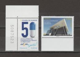 FRANCE / 2014 / Y&T SERVICE N° 159/160 ** : CE (Directive Médicament & Coopération Culturelle) - Gomme D'origine Intacte - Nuevos