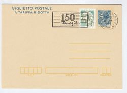 1986 Vicenza MARZOTTO 1836 1986 150th Anniv SLOGAN Postal STATIONERY LETTERSHEET  Italy Stamps Uprated Cover, Textile - 6. 1946-.. Republic