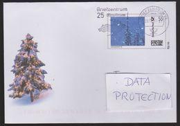 B 571) Deutschland 2007 GSU Plusbrief, Weihnachten Winterlandschaft (n. Uetersen) - Poste