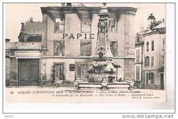 Le Crime De REIMS - Place Godinot - Maison Incendiée - Guerre Européenne 1914 - Reims
