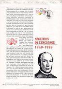 3- FRANCE Yvert 3148 Abolition Esclavage 1998 - Documenti Della Posta