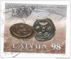 Latvia 2011 -  800 Years Of Pfennig Of Riga Coin Bishop  Used (o) - Latvia