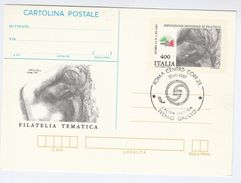 1987 Rome L'Altra Editoria Premio GALILEO EVENT Postal STATIONERY CARD Italy Stamp Philatelic Exhibition Cover Astronomy - Astronomy