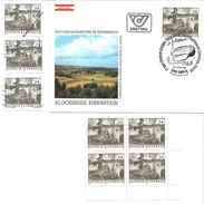 1505o: Österreich 1984, Blockheide- Sonderstempel 3950 Gmünd, Plus 6mal **/o, Plus Mustermarke - Gmünd