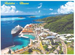 Polynésie Française -Raiatea  Ville De UTUROA (paquebot) - T.Sylvain 1336  Tahiti *PRIX  FIXE - Polynésie Française