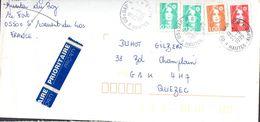 2- FRANCE Affranchissement Tricolore Marianne Du Bicentenaire 1996 - Variedades Y Curiosidades