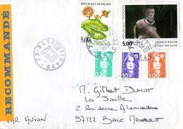 2- FRANCE Affranchissement Tricolore Marianne Du Bicentenaire 1996 - Abarten Und Kuriositäten