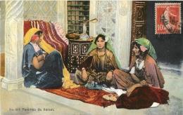 FEMMES DE HAREM  1913  EDITION  LEHNERT ET LANDROCK - Tunisie