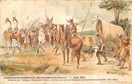 MULHOUSE MULHAUSEN DORNACH  EINGEMEINDUNGSFEIER - Mulhouse