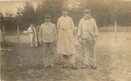 CARTE PHOTO PRISONNIERS DE GUERRE 1918  VOIR LES DEUX SCANS - Guerre 1914-18