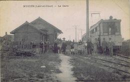 41 - Muides-sur-Loire (Loir-et-Cher) - La Gare - France