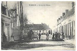 CP 524  CPA De Warhem (59) La Rue Du Château - France