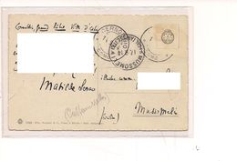 7343 Cartolina Olografa Ed Autografata MATILDE SERAO Scrittrice 1914 - Autographes
