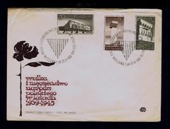Polska 1939-1945 Hitler Monuments To The Dead WWII Monuments Aux Morts History 1965 Fdc Sp4857 - 2. Weltkrieg