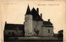 CPA   Remilly (Niévre) - Le Cháteau De La Boue     (518291) - France