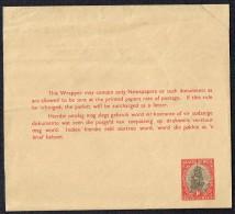 1d. Dromedarius Dailboat  Neewspaper Wrapper Unused - Covers & Documents