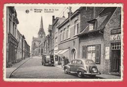 CPSM * WERVICQ * Ann. 1950 * Rue De LA LYS * Animation * Fourgon Peugeot D4A  * Ed. Wervicquoise* VOIR Scann Recto/verso - Wervik