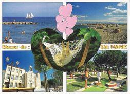 *CPM - 66 - SAINTE MARIE La MER - Multivues - Frankrijk