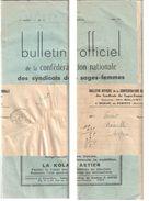 4142 PONTIVY JOURNAUX PP Journal Entier Avec Bande EntièreType 84 Ob 29 5 1940 Bulletin Officiel Sages Femmes - Marcophilie (Lettres)