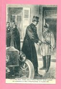 C.P. Feluy  = S.M. Le Roi  Albert Rendant  Visitz à P. Demoulin  Dernier Survivant Des  Combattants De1830 Le 16.01.1912 - Seneffe