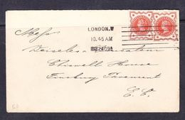 SC13-36 GREAT BRITAIN LETTER. 1909 YEAR. - Lettres & Documents