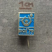 Badge (Pin) ZN005733 - Volleyball Yugoslavia Croatia Vukovar BOS 1979 - Volleyball