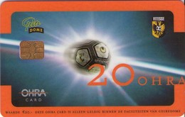 TARJETA FUNCIONAL DE HOLANDA Gelredome Uhlsport FUTBOL (CHIP) OHRA CARD 20 (136) - Otros