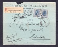 SC13-45 R-LETTER FROM ROMANIA TO GERMANY. 1906 YEAR. - Covers & Documents