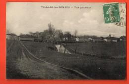 NEP-19   Villars-lès-Dombes  Cachet Frontal 1922 - Villars-les-Dombes