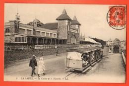 NEP-20  La Baule-Escoublac  Le Casino Et La Navette, Tramway. ANIME. Cachet Frontal 1918 - La Baule-Escoublac