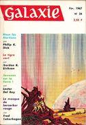 Galaxie N° 34, Février 1967 (BE+) - Opta