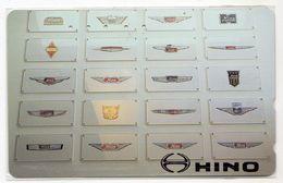 TELECARTE JAPON HINO - Advertising