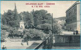 SIBENIK - Orlovski Slet 8. I 9. VIII. 1925. ( Croatia ) * Not Travelled * By Naklada Papirnice Grgo Radic , Sibenik - Croatia