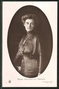 AK Königin Alexandrine Von Dänemark - Familles Royales