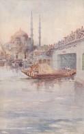 Turkey Constantinople Jeni-Djami And Galata Bridge - Turkey