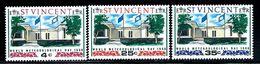 St. Vincent  Metereological Day Set SC# 256-58 Mint - St.Vincent (1979-...)