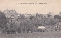 Carte Postale : Orsay (91) Entrée Du Pays Route De Bures    Ed Gantrot N° 54 - Orsay