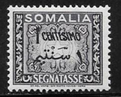 Somalia, Scott # J55 Mint Hinged Postage Due, 1950 - Somalia
