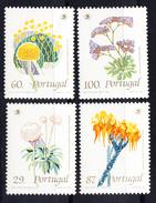 PORTUGAL 1989 .FLORES SILVESTRES    NUEVOS SIN   CHARNELA.CECI 2 Nº 112 - 1910-... República