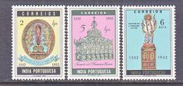 PORTUGUESE  INDIA  517-19    *   ST.  FRANCIS  XAVIER - Portuguese India
