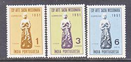 PORTUGUESE  INDIA  524-6    *   MISSIONARY  EXPO. - Portuguese India
