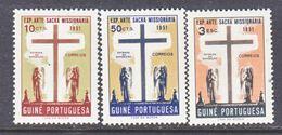 PORTUGUESE  GUINEA  277-9    *   MISSIONARY  EXPO. - Portuguese Guinea