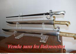 Ratelier Plexi Pour 3 Baionnettes Ou Glaive Modul Neuf - Armes Blanches