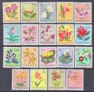 Ruanda-Urundi  114- 32    *     FLOWERS - 1948-61: Mint/hinged