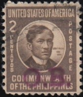 PHILIPPINES - Scott #O44 Official 'Overprinted' (1) / Used Stamp - Philippines